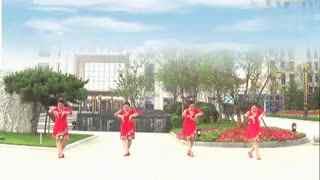 红领巾广场舞 站在草原望北京