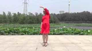红领巾广场舞 你是上天给我的礼物 正背面演示慢速口令教学