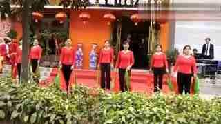 安庆舞缘广场舞 七个隆咚锵