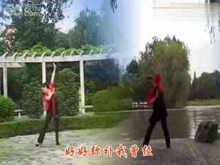 爱贺广场舞 我把幸福弄丢了