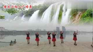 安庆小红人广场舞 嬉闹荷塘