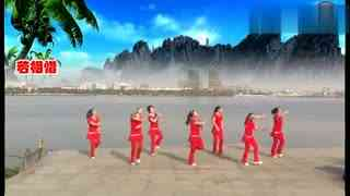 安庆小红人广场舞 姑娘追