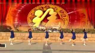 安庆小红人广场舞 喜从心中来