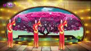 安庆小红人广场舞 让祝福飞
