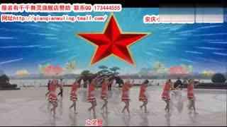 安庆小红人广场舞 咱们中国人