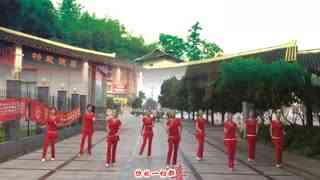 安庆小红人广场舞 小苹果