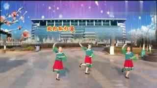 安庆小红人广场舞 又见雨夜花