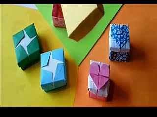 简单折纸盒图解 手工DIY心形盒 制作折纸