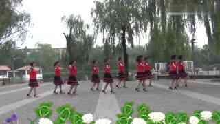 北京舞之缘广场舞 说再见不应该在秋天