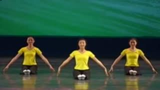 膝盖脚趾头舞蹈考级 儿童舞蹈考级2级膝盖脚趾