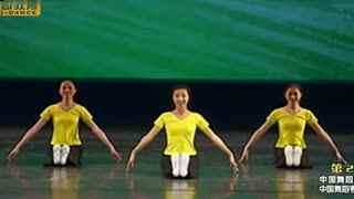 膝盖脚趾头舞蹈考级 中国舞蹈考级第二级教材