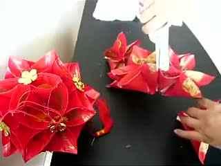 幼儿园手工制作灯笼 灯笼制作视频 绣球灯笼