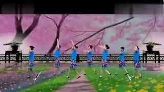 大庆银河广场舞 花开半夏