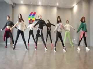 舞蹈练习视频 简单易学年会舞蹈视频 舞蹈教学图片