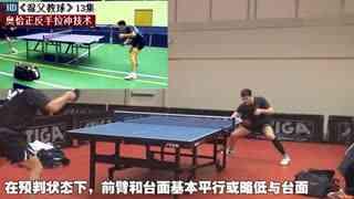球第13集:奥恰洛夫正反手拉冲位次_乒乓球教如何用线报技术志愿图片