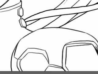 十分钟学画动漫人物--黑百合