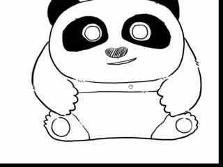 十分钟学画动漫人物--功夫熊猫
