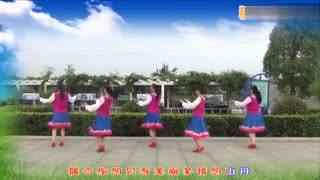 郏县花之舞广场舞《多情的山丹》