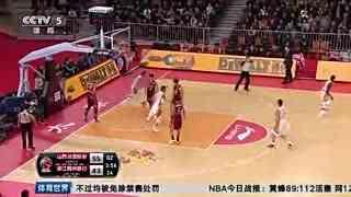 【CBA】富兰克林36+9+6领4人上双 沃伦缺阵山西胜浙江