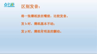 小学语文汉语拼音学习  第6集