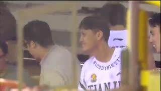 CBA视频-百步穿杨张智涵飚超远压哨三分 天津VS吉林