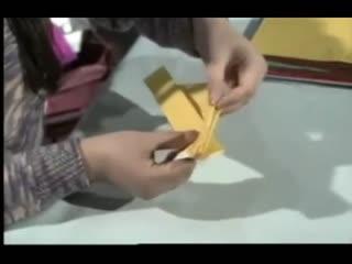 过家家折纸视频 蝴蝶戒指的折法图片