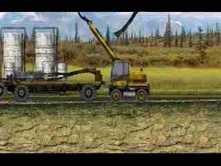 大挖机工作视频 型 超长臂型表演--华数TV