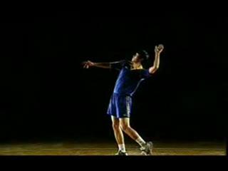气排球扣球教学视频