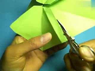折纸王子折纸教程 纸小王子纸陀螺