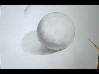 素描入门基础教程 素描石膏几何体正方体的画法步骤图解图片