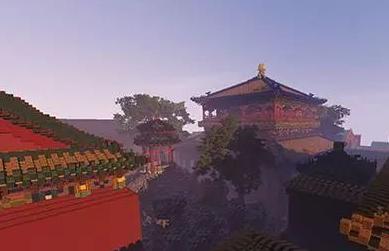 小伙打造虚拟故宫 耗时3年在游戏中造虚拟故宫