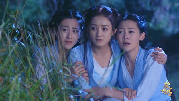 《楚乔传》赵丽颖与姐妹意外整死了宋大娘