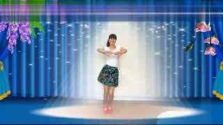 南之新女女广场舞 幸福因为有你