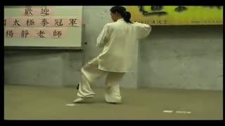 太极拳24式护肤慢动作吴阿敏24式图解太极拳20岁简化的正确步骤图片