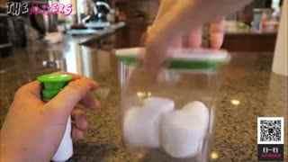 如果把棉花糖放进真空会发生什么?