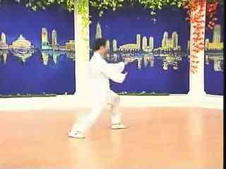 太极拳慢动作完整教学李德印48式太极拳男士视频走教学视频教学视频教学模特图片