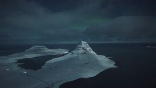 月光下的冰岛每一个画面都美得让人无法呼吸