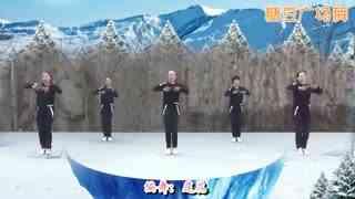 糖豆广场舞 健身舞《爱疯了》教学