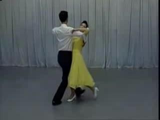 交谊舞中四教学视频 交谊舞慢三步 双人舞教学