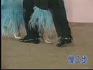 交谊舞慢三步教学视频 交谊舞慢三步舞基本步