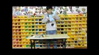 节日气球凹造型视频 简单气球造型 兔子手拿棒