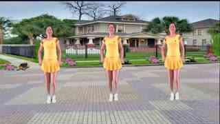 红领巾广场舞精选:《感到幸福你就拍拍手》改编:舞蝶