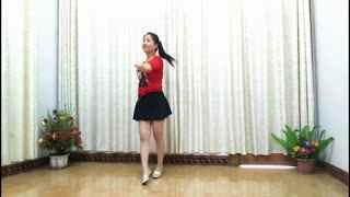 红领巾广场舞精选:《烟花雨》性感美女健身操