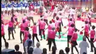 千江飞雪广场舞 《关东女儿美》健身节版