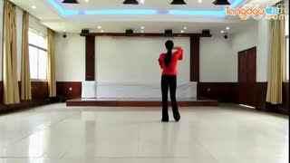 新东方广场舞专辑 2014最新 新东方广场舞 花儿这样红 背面分解