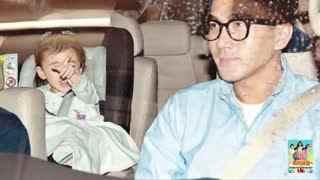 刘恺威独自遛弯 小糯米由奶奶接回家 社交皇后患癌症后容貌大变