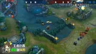 王者荣耀  地图新BUG 用二技能瞬移八百米开外干掉敌方狙击手