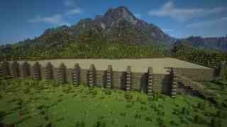 【我的世界】建筑党福利 - 详细地图建设延时摄影 - Helmfirth Isles - 02 - Emerald K