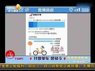 深圳单车禁骑令 首查单车违法行为