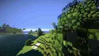 在Minecraft里做出【君の名は】中系守县地形图